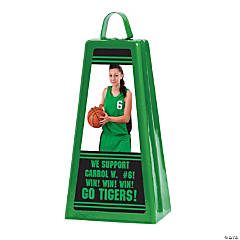 Custom Photo Jumbo Cowbell - Green