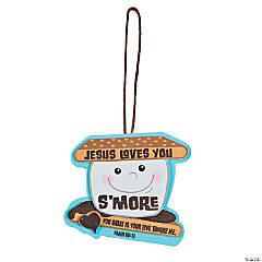 Foam Jesus Loves You S'more Ornament Craft Kit