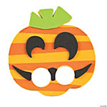 Pumpkin Finger Puppet Craft Kit