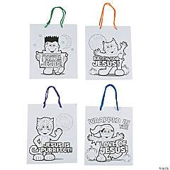 Color Your Own Little Boolievers Treat Bags