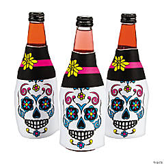 Day of the Dead Bottle Covers