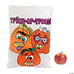 Color Your Own Happy Halloween Trick-or-Treat Bags
