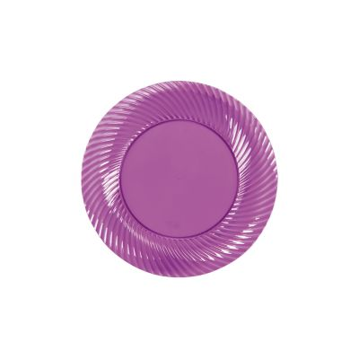 quickview image of plum plastic dessert plates with sku13660006