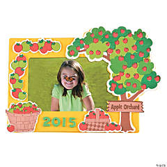 Apple Orchard Magnetic Picture Frame Craft Kit