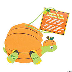 Halloween Turtle Ornament Craft Kit