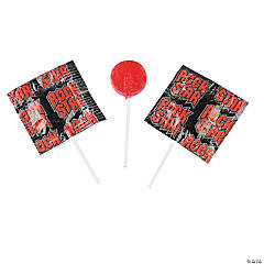 Rock Star Printed Lollipops