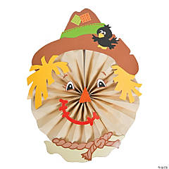 Scarecrow Hanging Fan Craft Kit