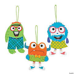 Nerdy Monsters Ornament Craft Kit