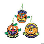 Color Your Own Christian Pumpkin Ornaments
