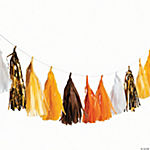 Candy Corn Tassel Garland