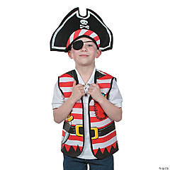 Child's Pirate Costume Kit