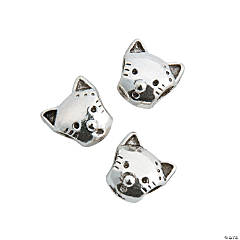 Kitty Large Hole Beads