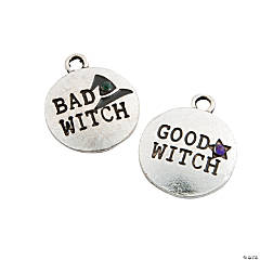 Good Witch & Bad Witch Halloween Charms