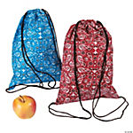 Bandana Drawstring Backpacks