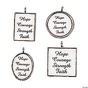 Awareness Framed Charms