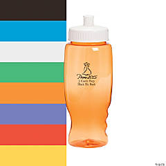 Transparent Prom 2015 Personalized Water Bottles - 27 oz.
