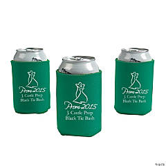 Green Prom 2015 Personalized Can Covers