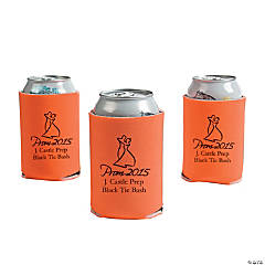 Orange Prom 2015 Personalized Can Covers