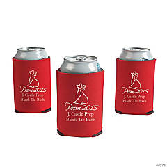 Red Prom 2015 Personalized Can Covers