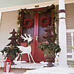 Wooden Slotted Reindeer Decoration