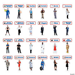 Jumbo Community Helper Cutouts