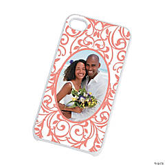 White Custom Photo iPhone® 4/4S Case - Photo Only