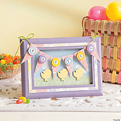 Easter Pennant Frame Idea