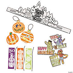 Color Your Own Halloween Assortment