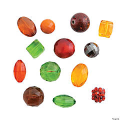 Fall Bead Mix – 12mm - 15mm