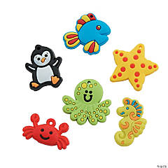 Rubber Under The Sea Charms