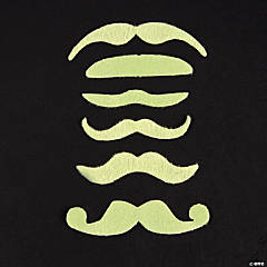 Glow-in-the-Dark Mustaches