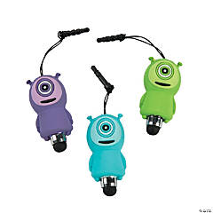 Monster Stylus Phone Charms