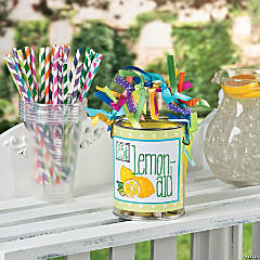 Lemonade Bucket Idea