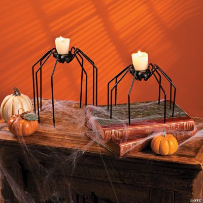 Spider Candle Holders