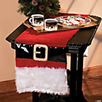 Santa Suit Table Runner