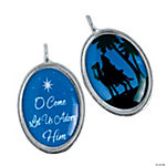 Wiseman Framed Charms