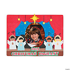 2014/2015 Christmas Pageant Picture Frame Magnet Craft Kit