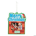 2014/2015 Merry Christmas Picture Frame Ornament Craft Kit