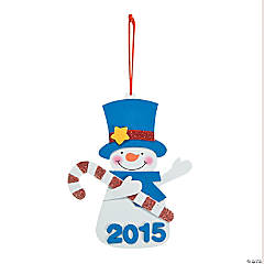 2014/2015 Snowman Ornament Craft Kit