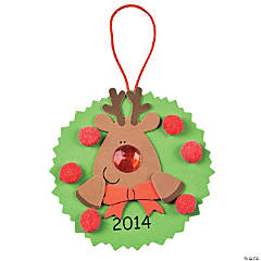 2014/2015 Reindeer Ornament Craft Kit