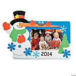 2014/2015 Snowman Picture Frame Magnet Craft Kit
