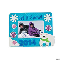 2014/2015 Winter Picture Frame Magnet Craft Kit