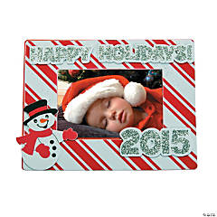 2014/2015 Happy Holidays Magnetic Picture Frame Craft Kit