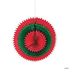 Giant Christmas Fan Burst