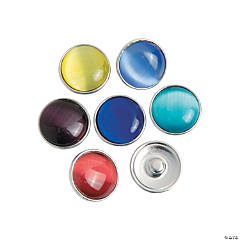 Large Colorful Snap Beads - 20mm