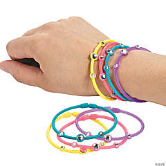 Gem Multicolor Connector Bracelets