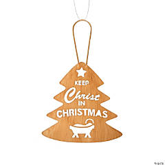 Keep Christ in Christmas Ornaments