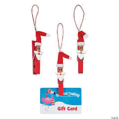 Santa Clothespin Ornaments