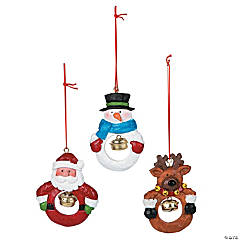 Christmas Ornaments with Bell
