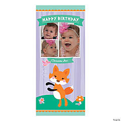 Lil' Fox Custom Photo Banner